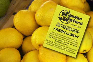 Fresh Lemons Car Smell Wonder Wafer