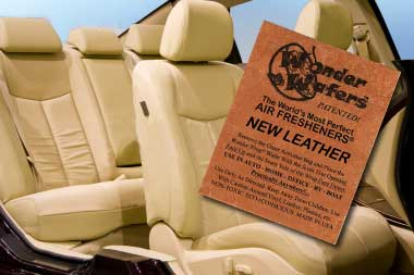 New Leather Car Smell Wonder Wafer